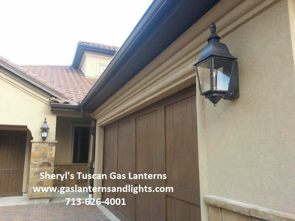 Sheryl's Tuscan and Moroccan Gas and Electric Lanterns