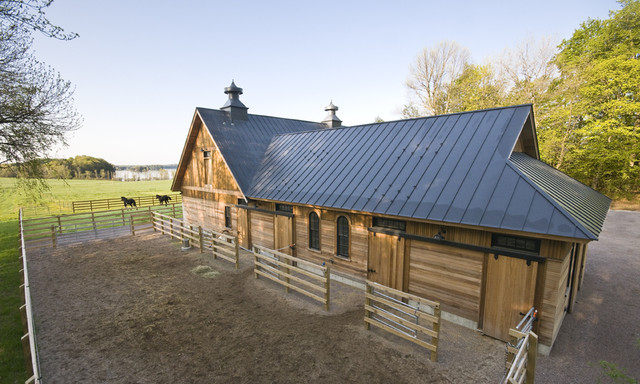 Shire Stable garage-and-shed
