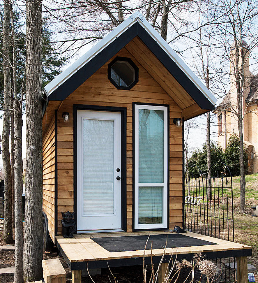 Example of an eclectic shed design in Other
