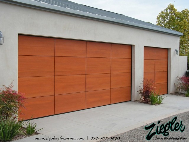 Sleek Modern Garage Door modern-shed & Sleek Modern Garage Door - Modern - Shed - Orange County - by ...