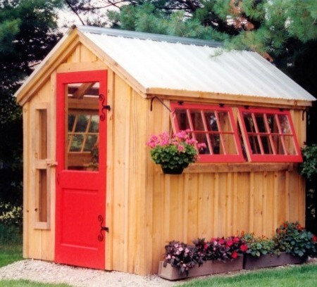 Small Garden Potting Shed Traditional Shed