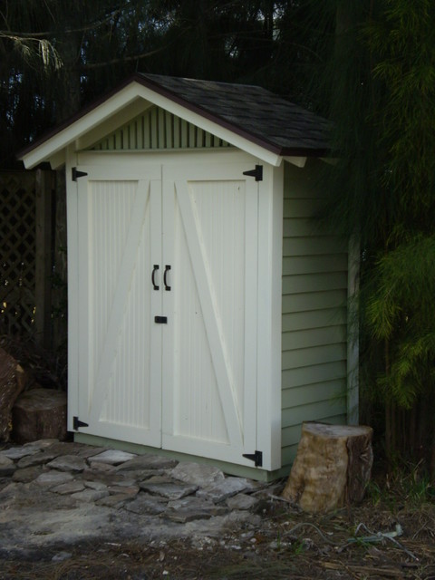 Small Outdoor Storage Shedstraditional Shed Tampa