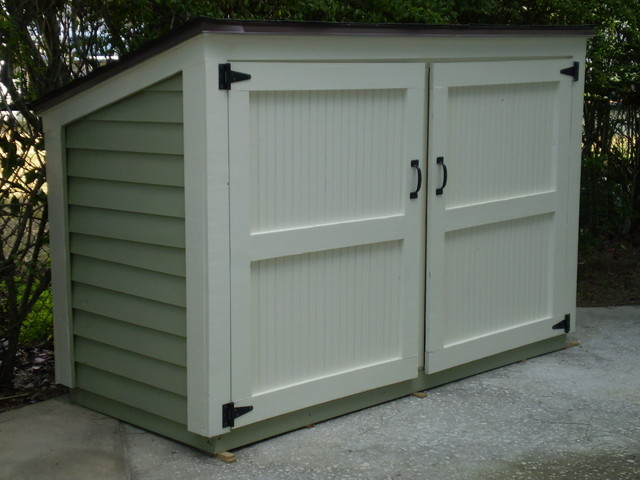 How To Build A Small Garbage Shed