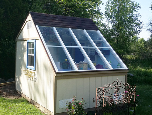 Unique garden sheds
