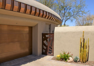 Southwest Contemporary - Mediterranean - Garage And Shed - phoenix - by The Phil Nichols Company