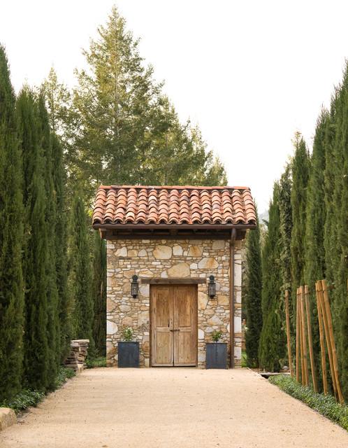 St. Helena Vineyard Estate Mediterran Gartenhaus