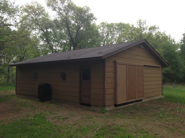 Standing Seam Metal Roof Traditional Garage And Shed
