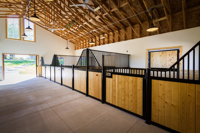 Star Equine Home traditional-garage-and-shed