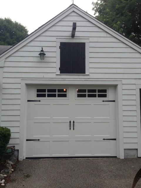 Steel Carriage House Garage Doors Modern Shed Boston