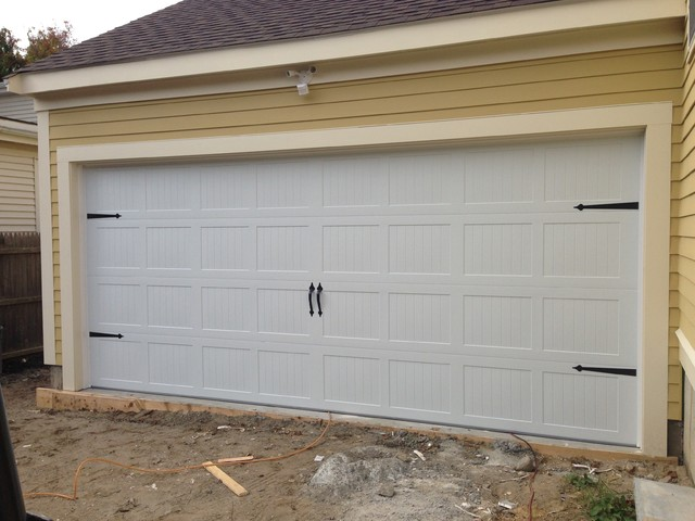 carriage garage doorSteel Carriage House Garage Doors  Modern  Granny Flat or Shed