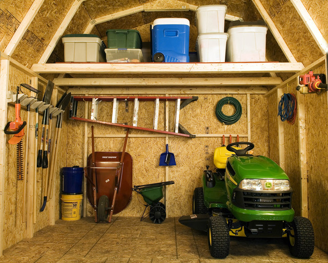 Storage Sheds Amp Garage Buildings Traditional