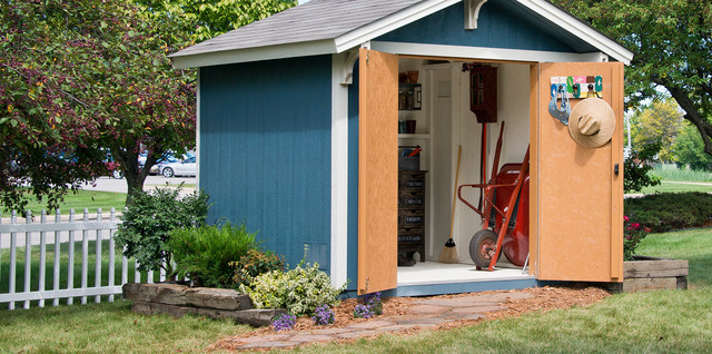 Storage Sheds & Garage Buildings traditional-shed