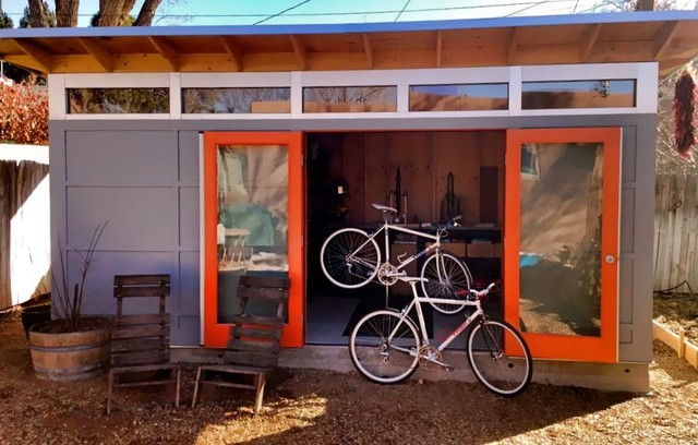 Studio Shed Bike Shop And Work Shop Modern Garden Shed And Building