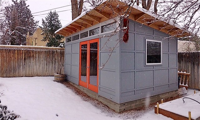 Charming Studio Shed Bike Shop And Work Shop Modern Garden Shed And Building