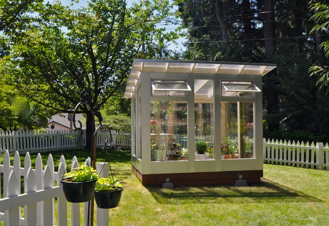 Studio Sprout 8x10 Greenhouse Operable Windows Modern