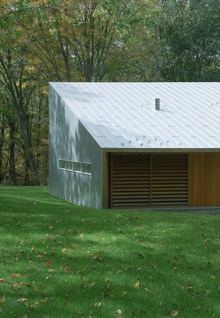 Texas Hill House Modern Garage And Shed New York