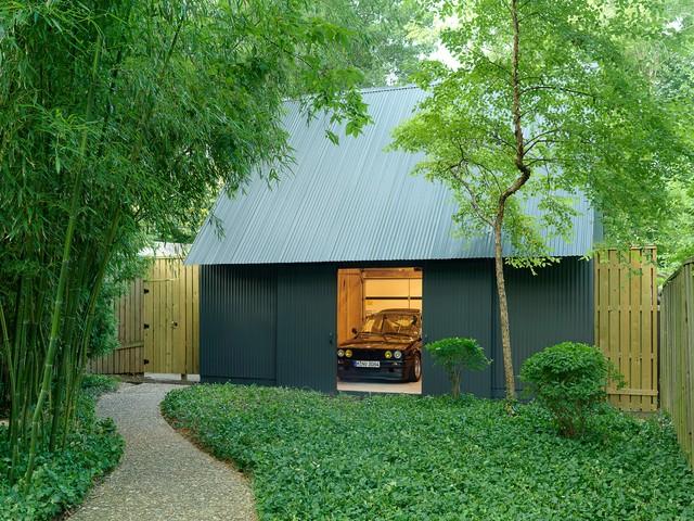 the city garage moderne garage et abri de jardin st. Black Bedroom Furniture Sets. Home Design Ideas