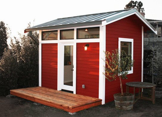 The Outback Project traditional-garage-and-shed