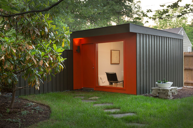 The Studio Modern Shed Kansas City By FORWARD