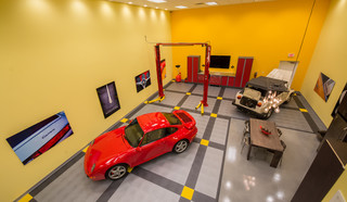 The Ultimate Man Cave - Eclectic - Garage And Shed - miami ...