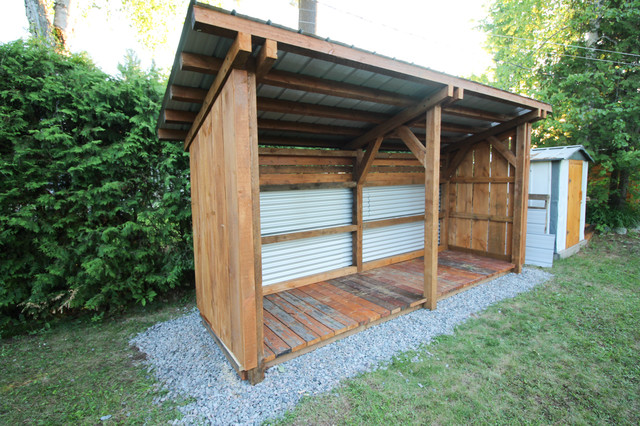 timber frame lean to shed craftsman shed