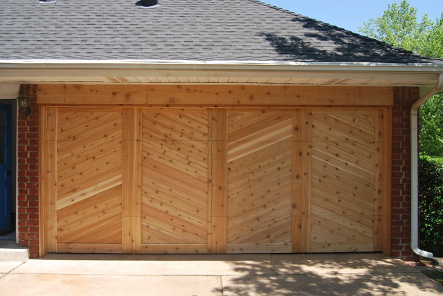 Tongue and groove cedar garage doors shed oklahoma for Garage door repair grove city ohio
