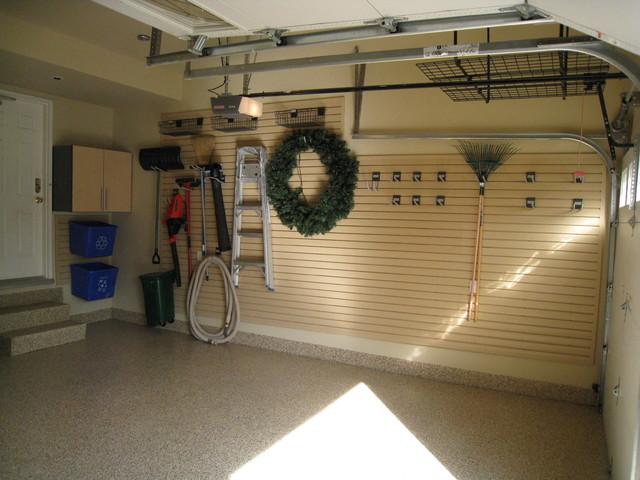 Tons o slatwall modern garage and shed toronto by