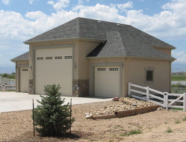 Garage Addition - Traditional - Garage And Shed - denver - by Sierra Enterprises, Inc.