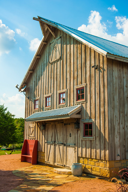 Greenville Barn traditional-garage-and-shed