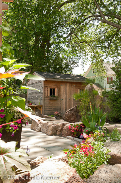 Transitional Garage And Shed transitional-garage-and-shed
