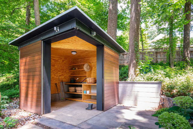 10 Well Organized Garden Sheds To Inspire Spring Planting