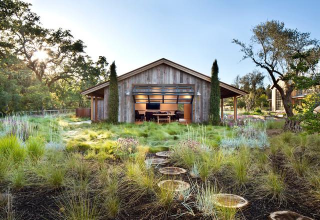 Triple l rustikal gartenhaus san francisco von sdg architecture inc - Gartenhaus einrichtungstipps ...