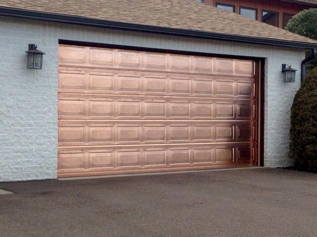true copper garage door
