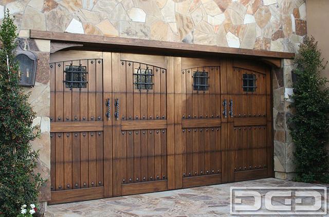 Tuscan Garage Door 02 European Style Garage Door Designs