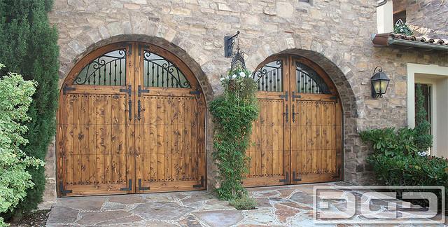 Tuscan Garage Door 03 Custom Door Design With Dummy