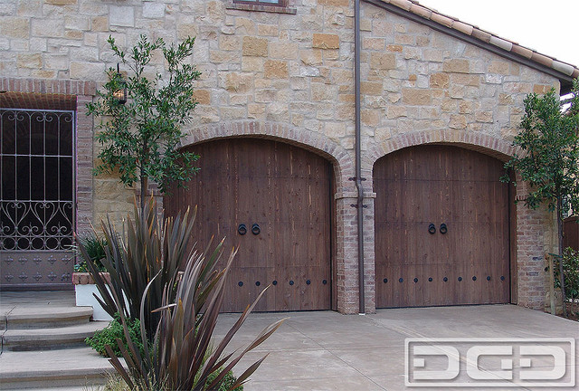 Tuscan Garage Door 08 Rustic Architectural Garage Door