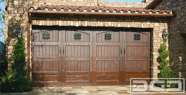 Tuscan Garage Door 13 | Garage Doors With Speakeasy Peep Holes u0026 Deco Hardware! traditional & Tuscan Garage Door 13 | Garage Doors With Speakeasy Peep Holes ...