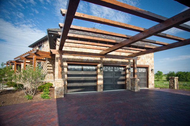 Tuscan Timbers traditional-garage-and-shed