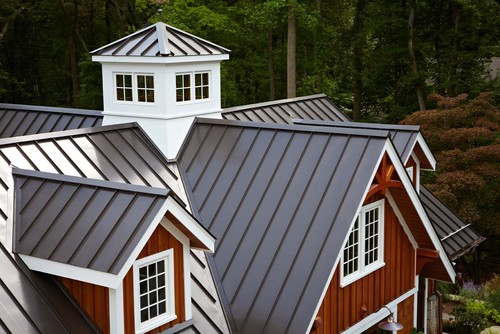Gorgeous What Is The Color Of The Standing Seam Metal Roof
