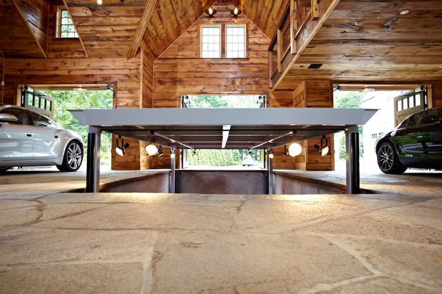 Man Cave Garage For Sale : Ultimate man cave and sports car showcase traditional
