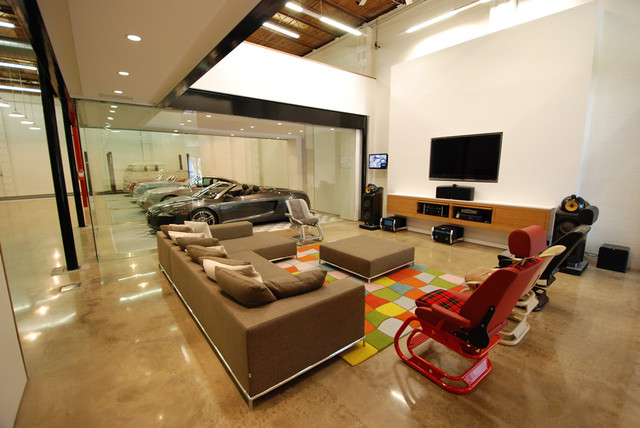 Man Cave Garage Company Houston : Ultimate man cave contemporary shed houston by