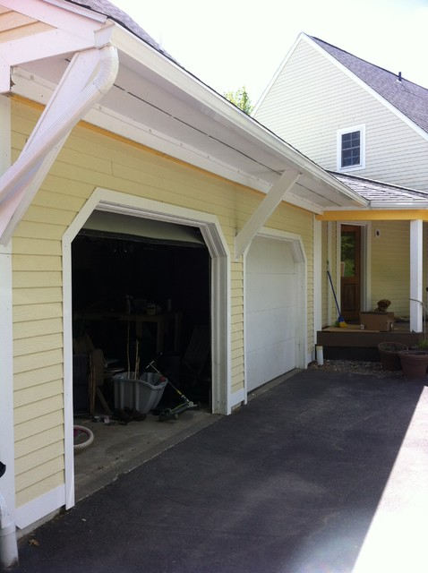 Versatex Trim and Laminate Siding traditional-garage-and-shed