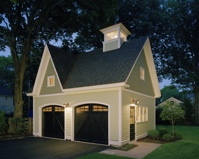 Victorian Carriage House Traditional Shed Other By