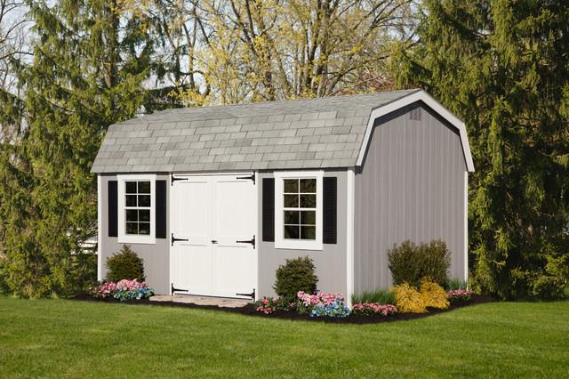 Victorian dutch barn traditional shed philadelphia for 18x27 window