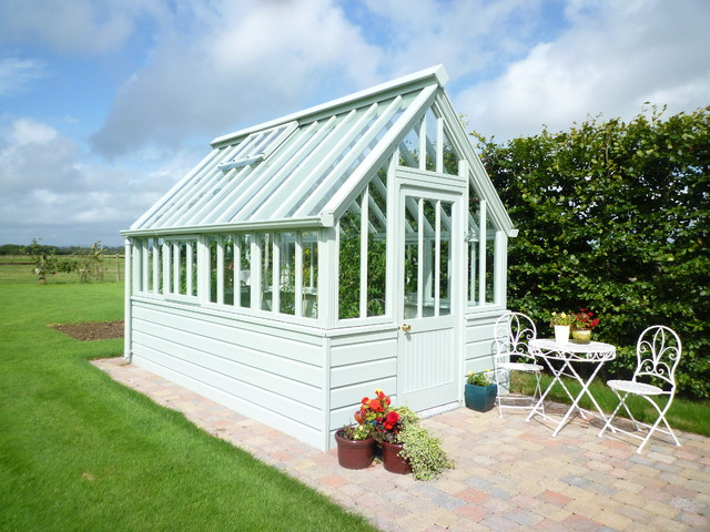 Victorian Planthouse traditional-garage-and-shed