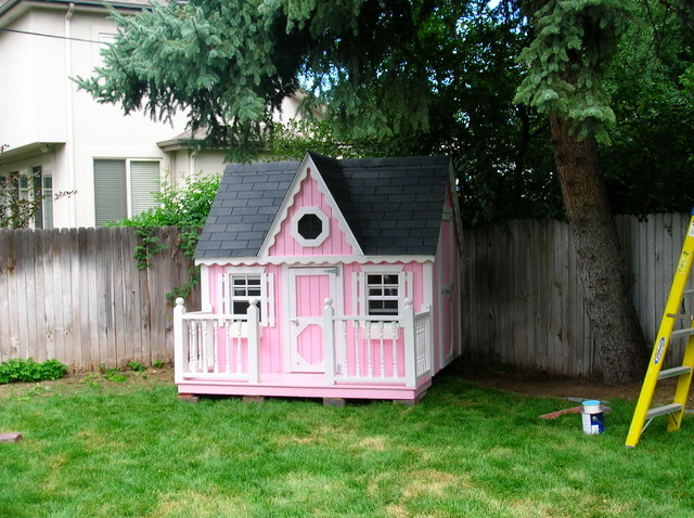 Victorian Playhouse Victorian Garage And Shed Denver