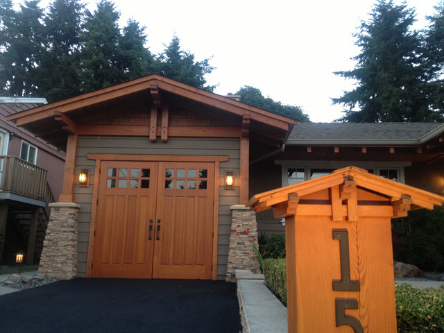 White Rock Custom Renovation traditional-garage-and-shed