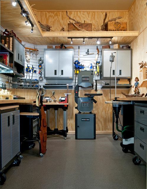 Workshop shed plans free download pdf woodworking new for One car garage woodshop