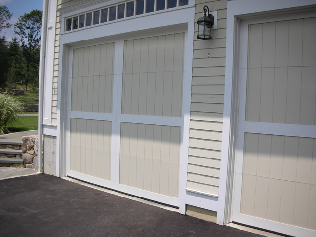wood composite garage doors modern garage and shed