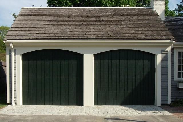 Wood Composite Garage Doors Modern Garage And Shed